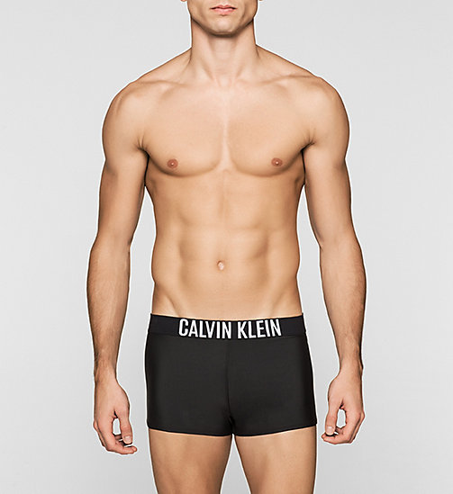 Swim Trunks - Intense Power - BLACK - CALVIN KLEIN SWIMWEAR - main image