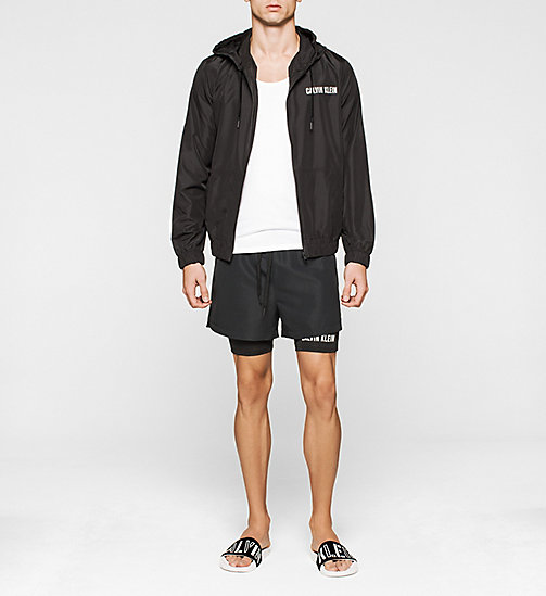 CALVINKLEIN Windbreaker - Intense Power - BLACK - CALVIN KLEIN JUMPERS - detail image 1