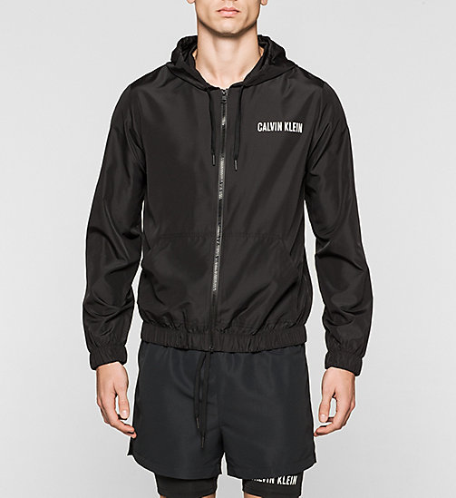 CALVINKLEIN Windbreaker - Intense Power - BLACK - CALVIN KLEIN JUMPERS - main image