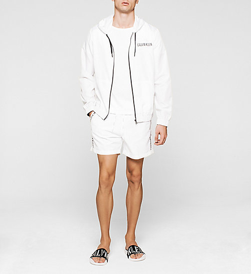 CALVINKLEIN Windbreaker - Intense Power - WHITE - CALVIN KLEIN JUMPERS - detail image 1