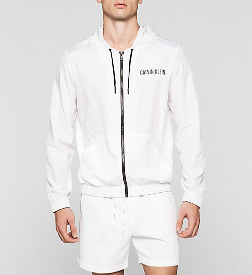 CALVINKLEIN Windbreaker - Intense Power - WHITE - CALVIN KLEIN JUMPERS - main image