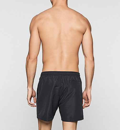 Swim Shorts - Core Solids - BLACK - CALVIN KLEIN SWIMWEAR - detail image 1
