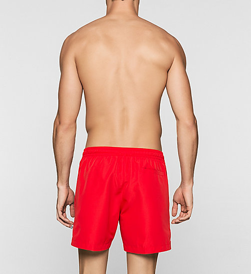 CALVINKLEIN Swim Shorts - Core Solids - RACING RED - CALVIN KLEIN SWIMWEAR - detail image 1