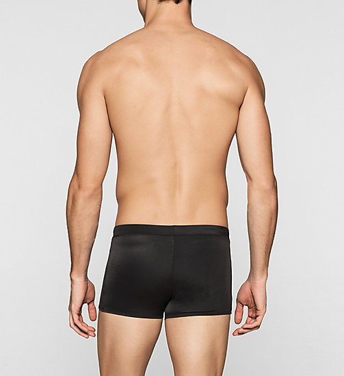 Swim Trunks - Core Solids - BLACK - CALVIN KLEIN SWIMWEAR - detail image 1