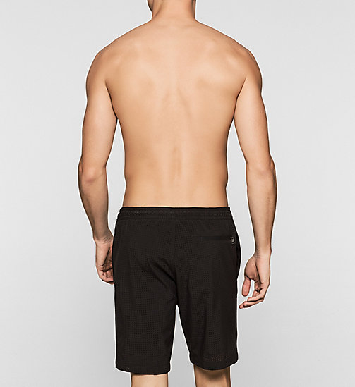 Swim Shorts - Cutting Edge Calvin - BLACK - CALVIN KLEIN SWIMWEAR - detail image 1