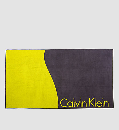 CALVIN KLEIN SWIMWEAR Beach Towel - Core Lifestyle KM0KM00057701