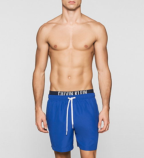 CALVINKLEIN Swim Shorts - Intense Power - SURF THE WEB - CALVIN KLEIN SWIMWEAR - main image