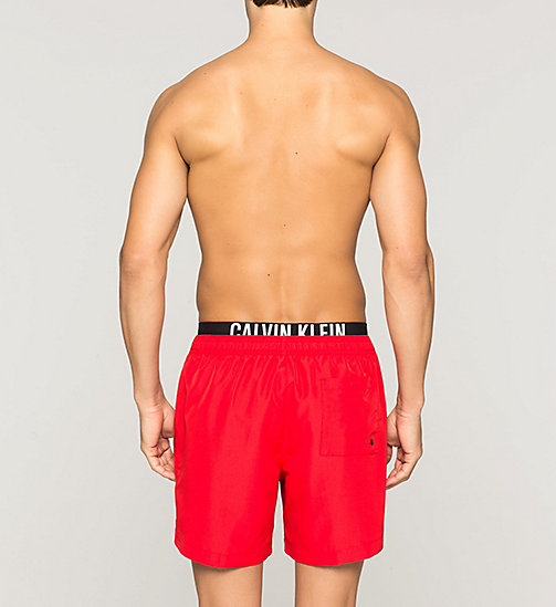 Swim Shorts - Intense Power - RACING RED - CALVIN KLEIN SWIMWEAR - detail image 1