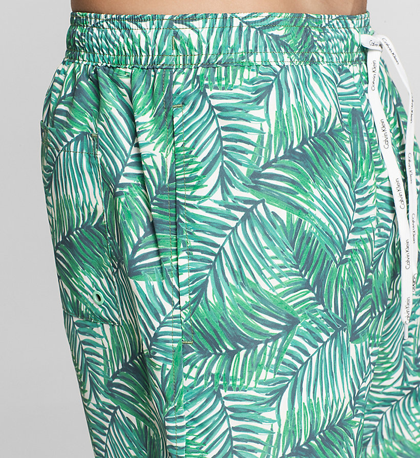 CALVINKLEIN Swim Shorts - ID Print - ABSTRACT PRINT - CALVIN KLEIN SWIMWEAR - detail image 2