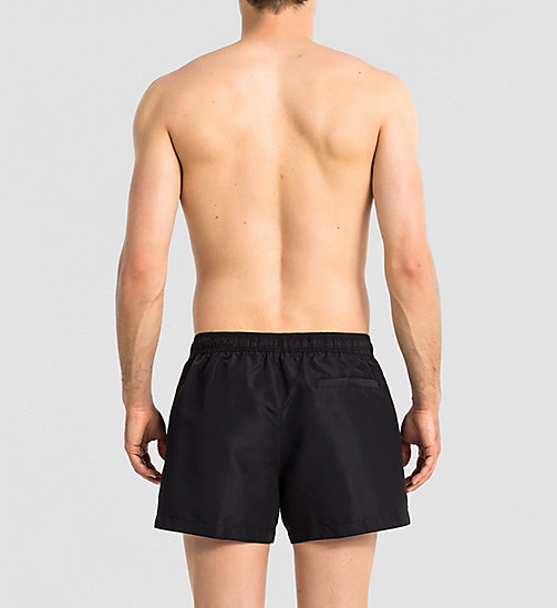 CALVINKLEIN Swim Shorts - Core Solids - BLACK - CALVIN KLEIN MEN - detail image 1