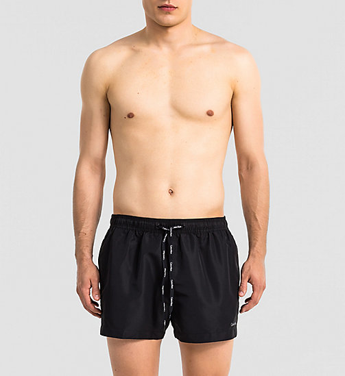 CALVINKLEIN Swim Shorts - Core Solids - BLACK - CALVIN KLEIN  - main image