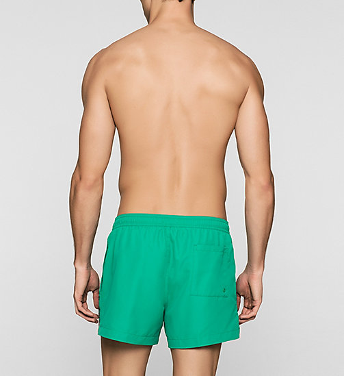 CALVINKLEIN Swim Shorts - Logo Tape - SIMPLY GREEN - CALVIN KLEIN SWIMWEAR - detail image 1