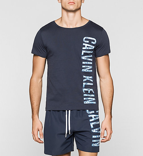 CALVINKLEIN T-shirt - Intense Power - BLUE SHADOW - CALVIN KLEIN SHORT SLEEVE T-SHIRTS - main image