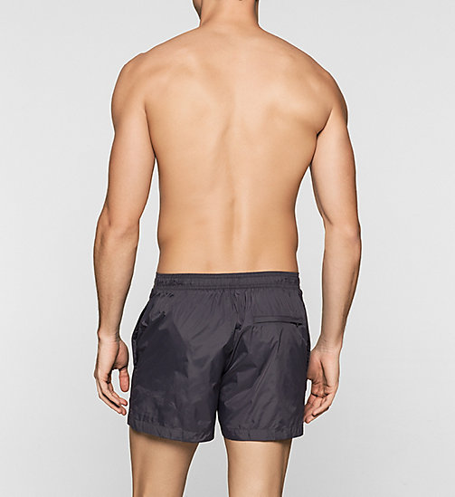 Swim Shorts - New Black - PERISCOPE - CALVIN KLEIN SWIMWEAR - detail image 1