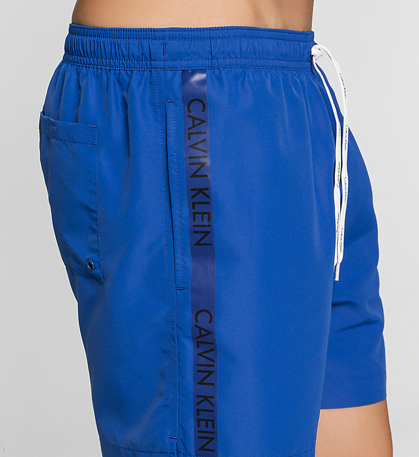 CALVINKLEIN Swim Shorts - Logo Tape - SURF THE WEB - CALVIN KLEIN SWIMWEAR - detail image 2