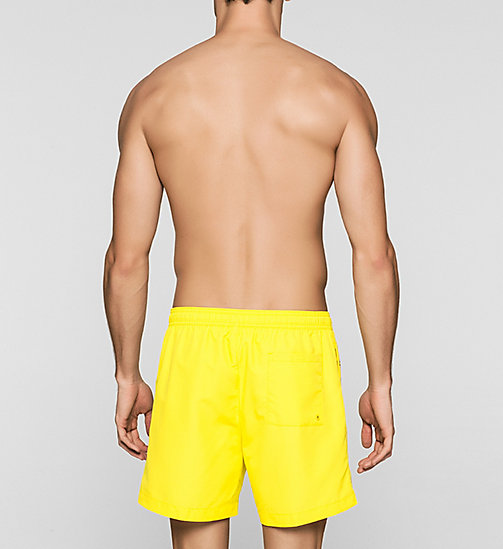 Swim Shorts - Logo Tape - BUTTERCUP - CALVIN KLEIN SWIMWEAR - detail image 1