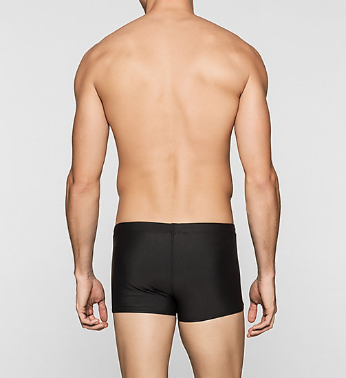 CALVINKLEIN Swim Trunks - Logo Tape - BLACK - CALVIN KLEIN SWIMWEAR - detail image 1