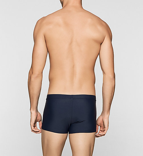 CALVINKLEIN Swim Trunks - Logo Tape - BLUE SHADOW - CALVIN KLEIN  - detail image 1