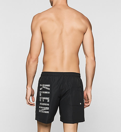 CALVINKLEIN Swim Shorts - Intense Power - BLACK - CALVIN KLEIN SWIMWEAR - detail image 1