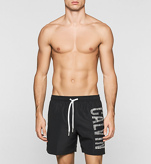 CALVINKLEIN Swim Shorts - Intense Power - BLACK - CALVIN KLEIN SWIMWEAR - main image