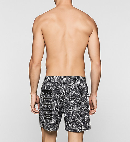 Swim Shorts - Intense Power - JUNGLE PRINT BLACK BLACK - CALVIN KLEIN SWIMWEAR - detail image 1