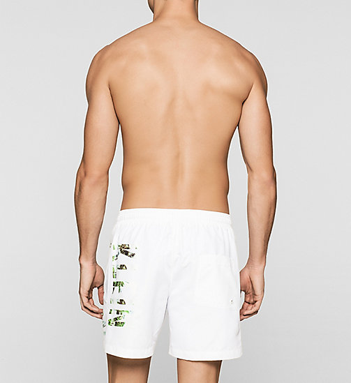CALVINKLEIN Swim Shorts - Intense Power - WHITE - CALVIN KLEIN  - detail image 1