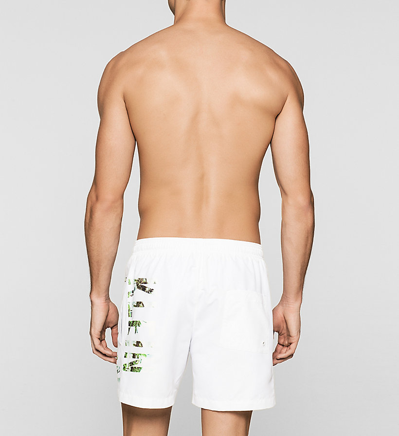 CALVINKLEIN Swim Shorts - Intense Power - WHITE - CALVIN KLEIN SWIMWEAR - detail image 1
