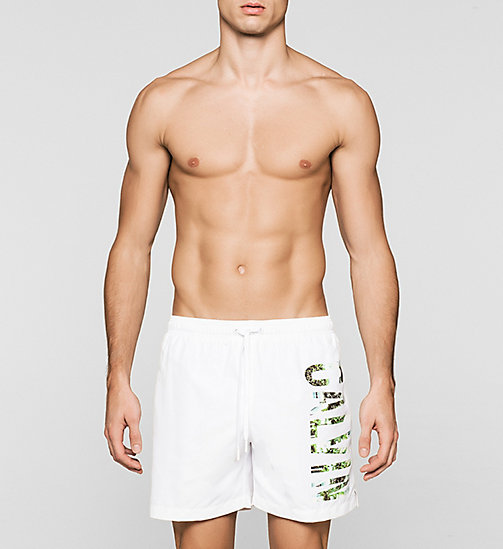 CALVINKLEIN Swim Shorts - Intense Power - WHITE - CALVIN KLEIN  - main image