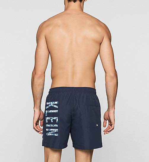 Swim Shorts - Intense Power - BLUE SHADOW - CALVIN KLEIN SWIMWEAR - detail image 1