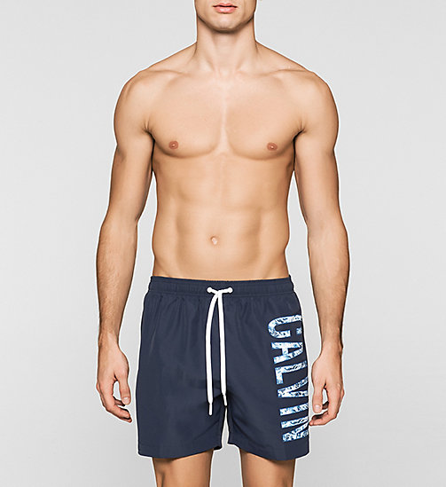 Swim Shorts - Intense Power - BLUE SHADOW - CALVIN KLEIN SWIMWEAR - main image