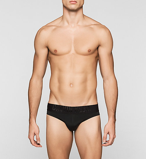 CALVINKLEIN Swim Briefs - Black Embossed - BLACK - CALVIN KLEIN SWIMWEAR - main image