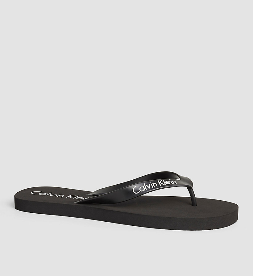 CALVINKLEIN Slippers - Core Lifestyle - BLACK - CALVIN KLEIN SHOES & ACCESSORIES - main image