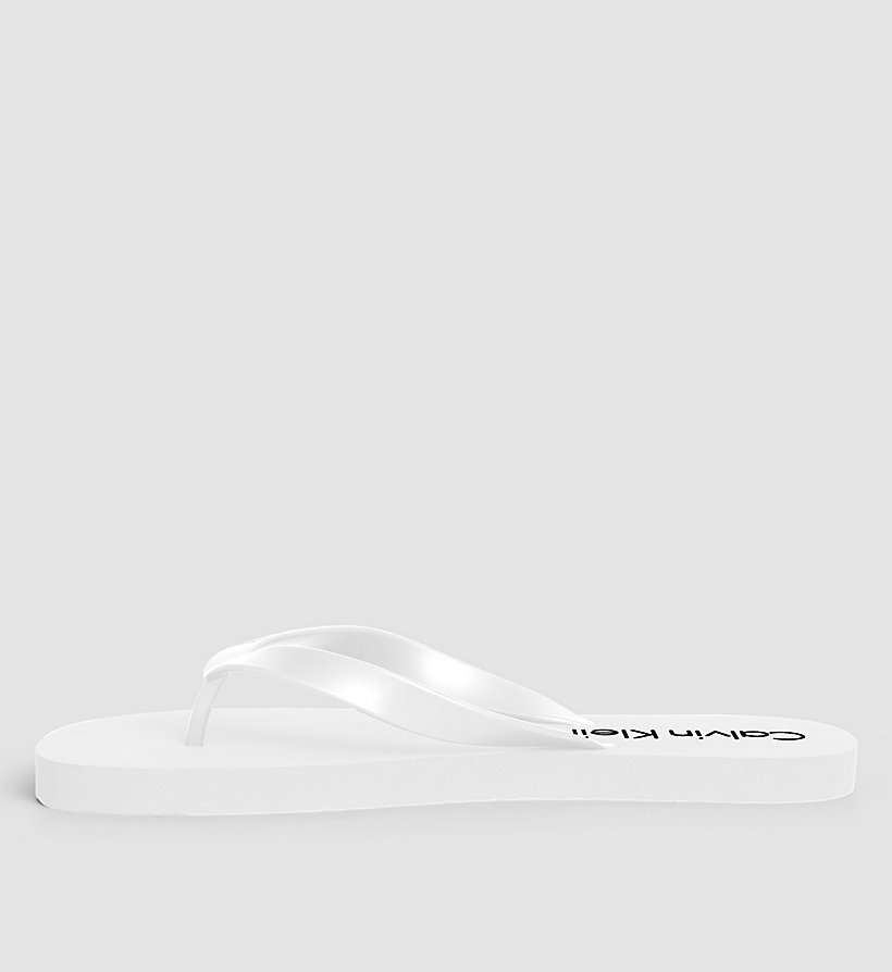 CALVINKLEIN Slippers - Core Lifestyle - WHITE - CALVIN KLEIN SHOES & ACCESSORIES - detail image 2