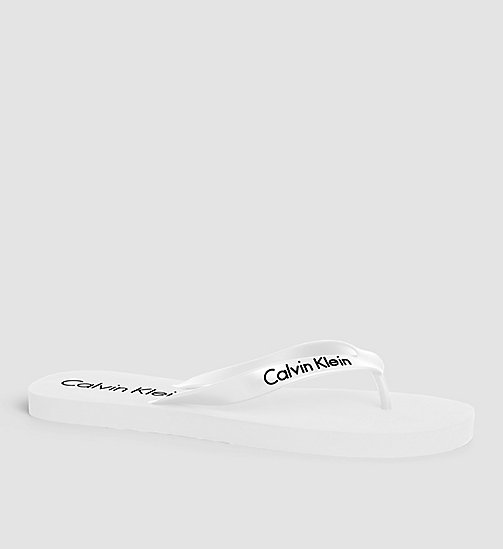 Slippers - Core Lifestyle - WHITE - CALVIN KLEIN  - main image