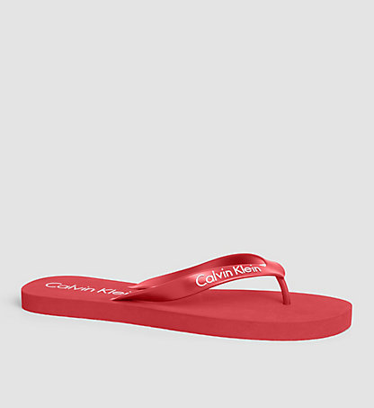 CALVIN KLEIN SWIMWEAR Slippers - Core Lifestyle KM0KM00123601