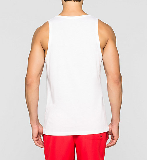 CALVINKLEIN Tanktop - Intense Power - WHITE - CALVIN KLEIN HEREN - detail image 1