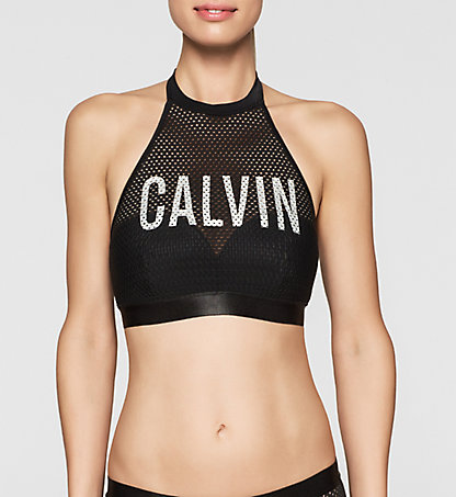 CALVIN KLEIN SWIMWEAR Bralette Bikini Top - Intense Power KW0KW00008001
