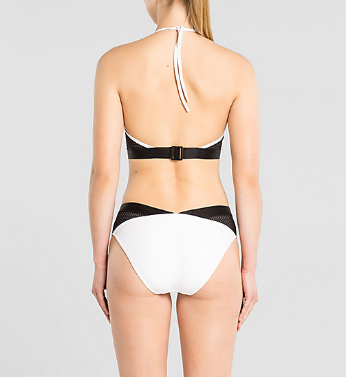 CALVINKLEIN Halterneck Swimsuit - Intense Power - WHITE - CALVIN KLEIN UNDERWEAR - detail image 1