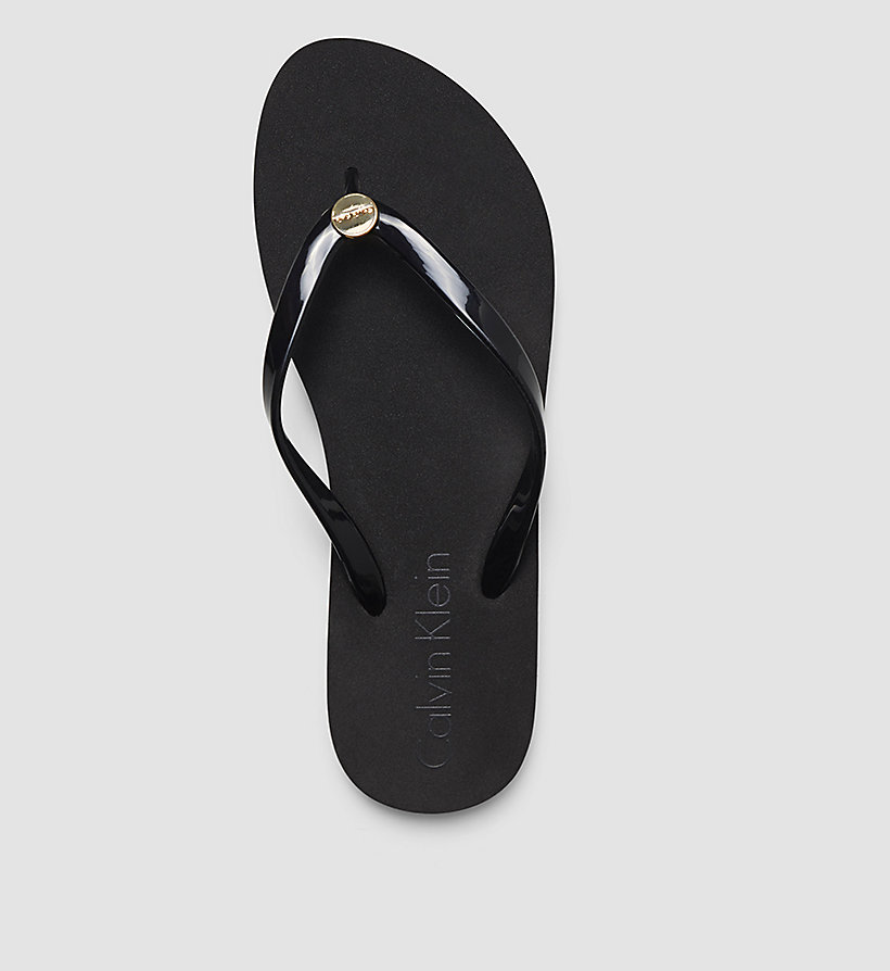 CALVINKLEIN Slippers - Core Lifestyle - BLACK - CALVIN KLEIN SHOES & ACCESSORIES - detail image 1