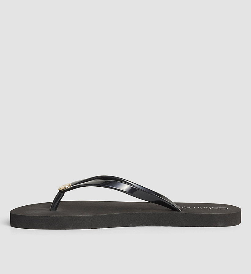 CALVINKLEIN Slippers - Core Lifestyle - BLACK - CALVIN KLEIN SHOES & ACCESSORIES - detail image 2