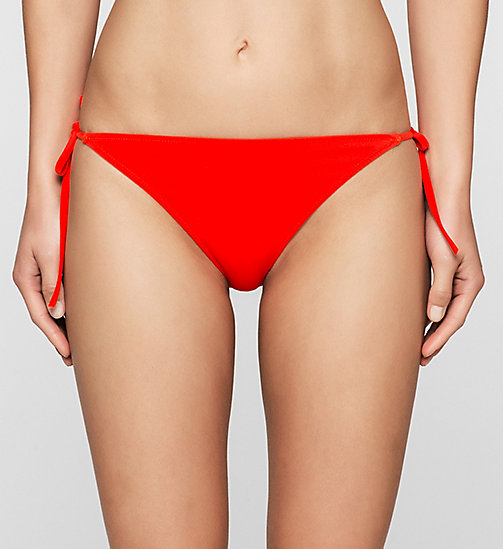 CALVINKLEIN Bikini Bottom - Intense Power - FIERY RED - CALVIN KLEIN SWIMWEAR - main image
