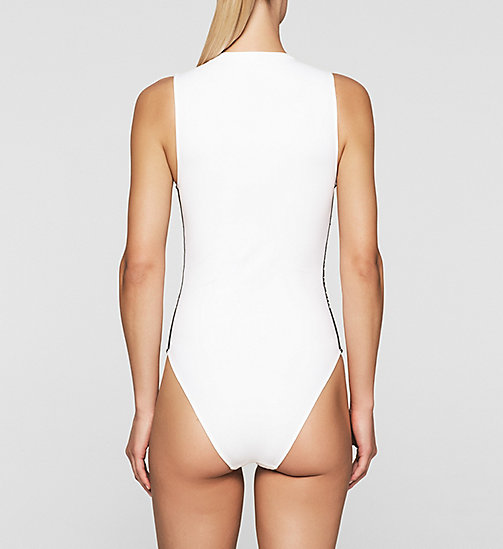 Swim Suit - Intense Power - WHITE - CALVIN KLEIN SWIMWEAR - detail image 1