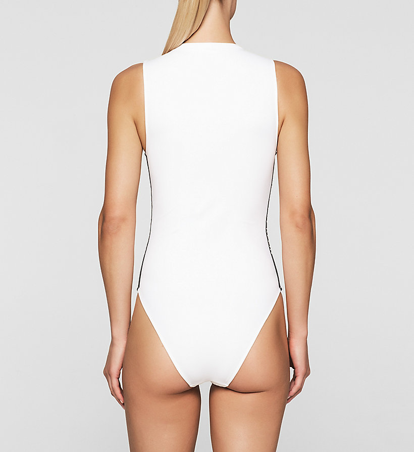 CALVINKLEIN Swim Suit - Intense Power - WHITE - CALVIN KLEIN SWIMWEAR - detail image 1