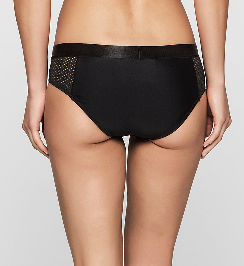 CALVINKLEIN Bikini Bottom - Intense Power - BLACK - CALVIN KLEIN SWIMWEAR - detail image 1