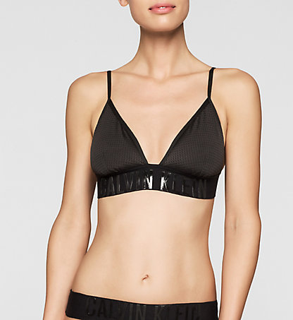 CALVIN KLEIN Triangle Bikini Top - Cutting Edge Calvin KW0KW00056001