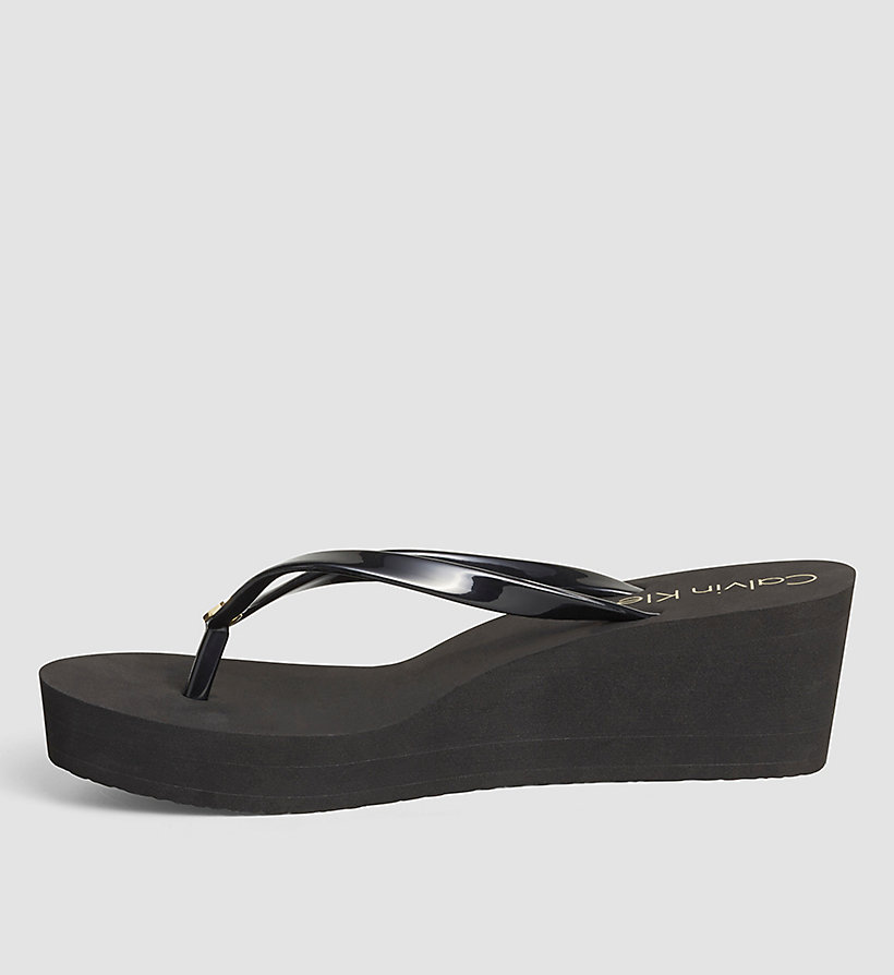 CALVINKLEIN Slippers - Black Lifestyle - BLACK - CALVIN KLEIN SHOES & ACCESSORIES - detail image 2