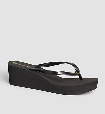 CALVIN KLEIN SWIMWEAR Slipper - Black Lifestyle KW0KW00069001