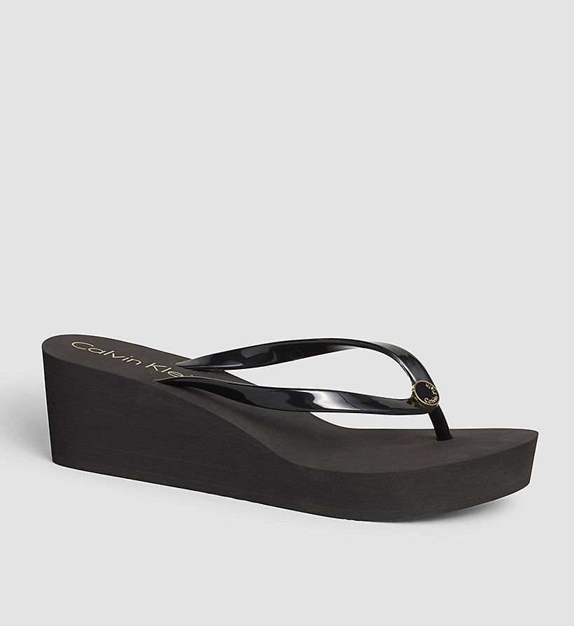 CALVINKLEIN Slippers - Black Lifestyle - BLACK - CALVIN KLEIN SHOES & ACCESSORIES - main image