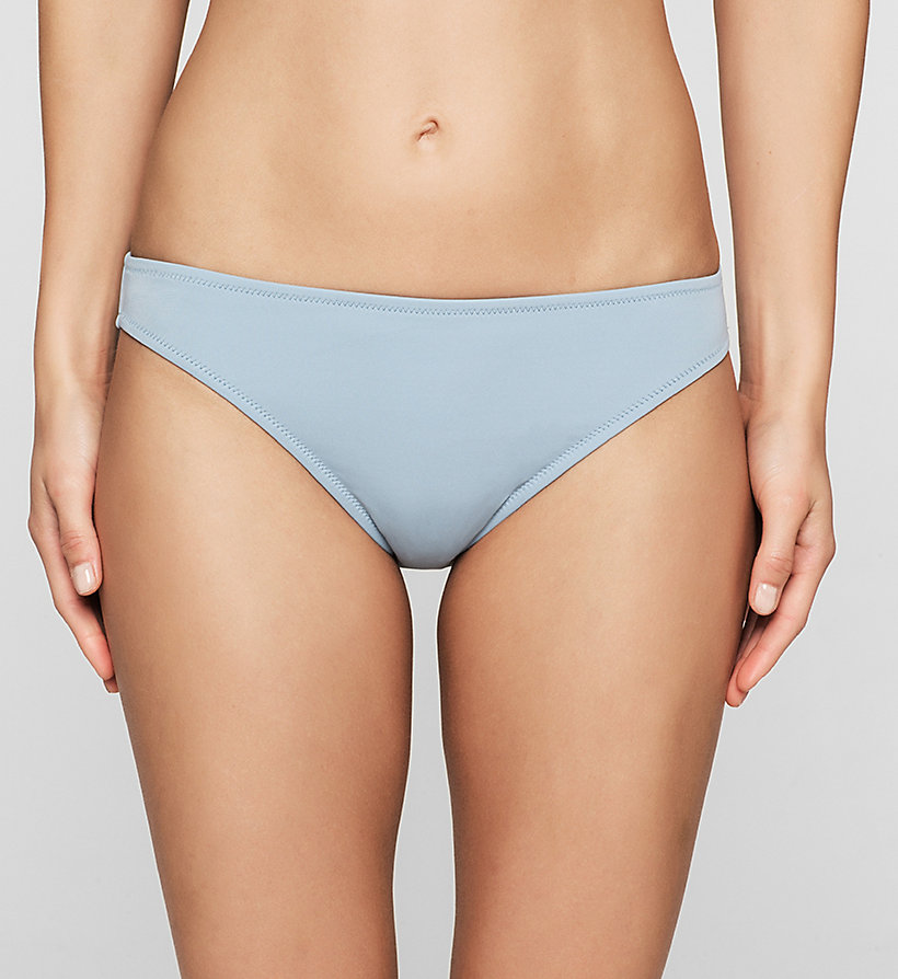 CALVINKLEIN Bikini Bottom - CK NYC - FADED DENIM - CALVIN KLEIN SWIMWEAR - main image
