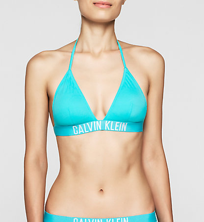 CALVIN KLEIN SWIMWEAR Triangle Bikini Top - Intense Power KW0KW00087480